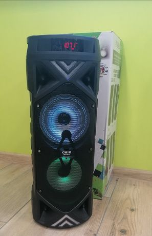 Głośnik Bluetooth Boombox karaoke