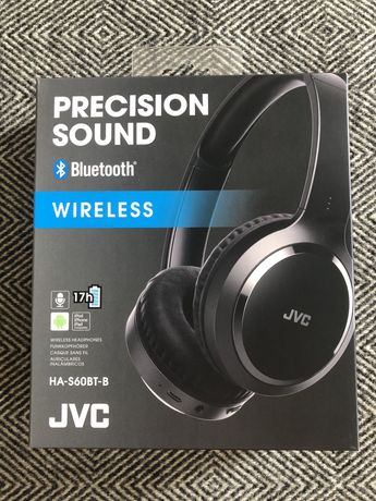 Headphones / auscultadores wireless / sem fios com micro - JVC - NOVO