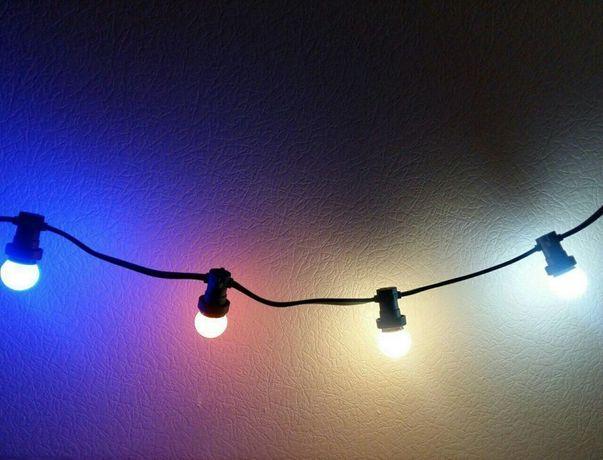 Ретро Гирлянда белт лайт (Belt Light) профессиональная от 1 м., IP65
