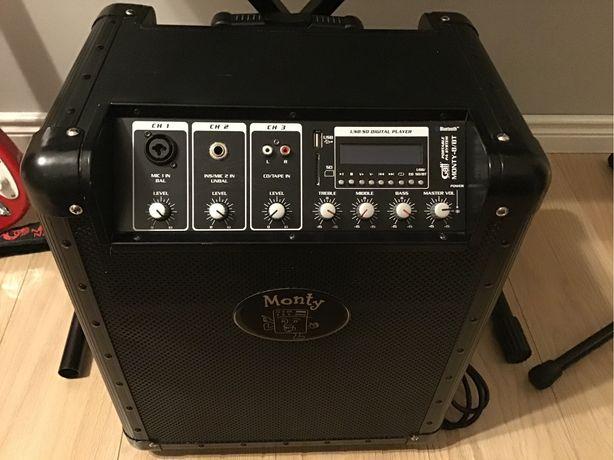 Wzmacniacz/ piecyk bezprzewodowy GattAudio Monty 8/BT