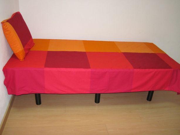 ikea brunkrissla capa edredon cama solteiro