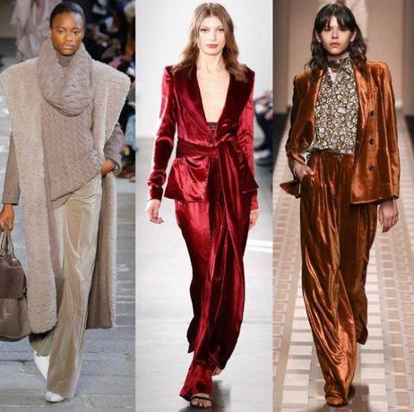 Шикарные бархатные брюки Vila. M/L. Оригинал