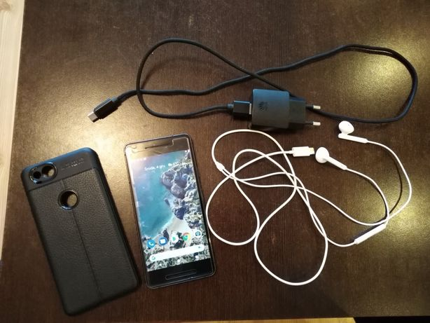 Smartfon Telefon Google Pixel 2 64 GB Czarny Black