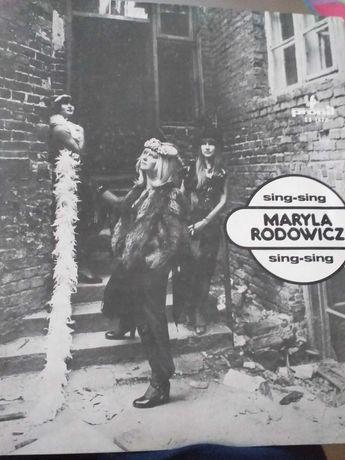 """Płyta winylowa Maryla Rodowicz """"Sing-Sing"""", 1976"""