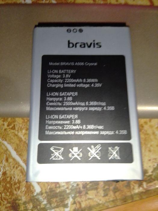 Акамулятор , батарейка от Bravis a506 Cristal Новотроицкое - изображение 1