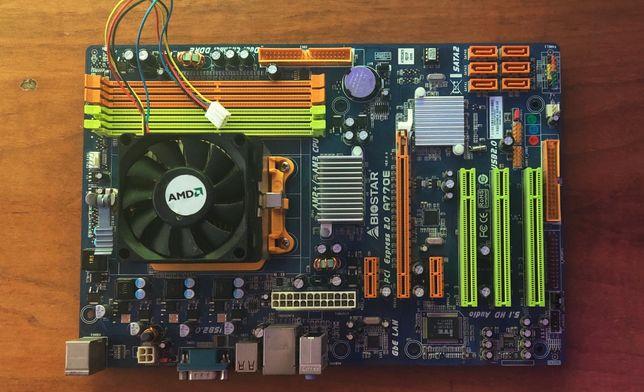 Материнская плата Biostar PCI Express 2.0 A770e
