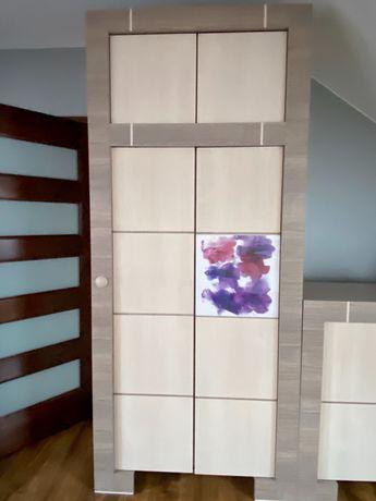 Meble VOX Modern szary dąb- do biura, pokoju młodzieżowego