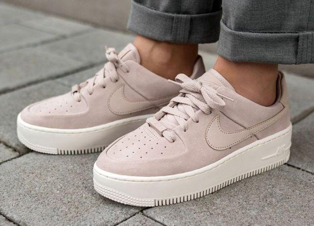 Кроссовки Nike air force 1 low White/Pink Найк айр форс Без предоплаты