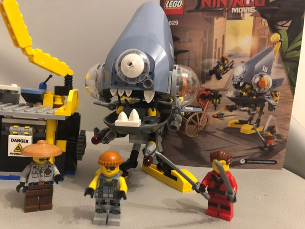 Klocki LEGO Ninjago Movie Atak Piranii 70629