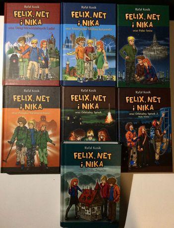 Rafał Kosik, Felix, Net i Nika (tomy 1-7)