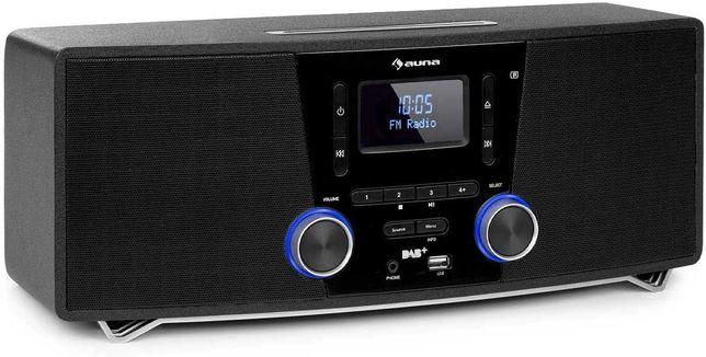 Radio sieciowe stereo system Auna Stockton CD BT USB