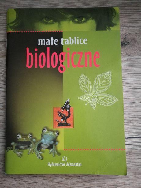 Małe tablice biologiczne wyd. Adamantan