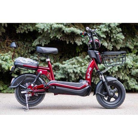 Электрический скутер Электро велосипед VEGA ELF Red Электровелосипед