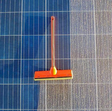 Mycie paneli fotowoltaicznych , okien, elewacji, dachów