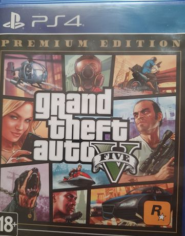 Продаю GTA 5 на PS4