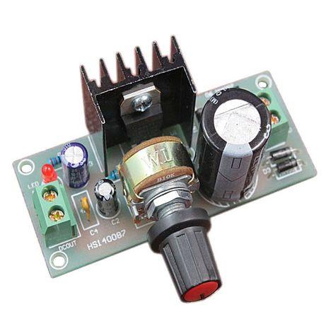 Регулируемый стабилизатор на LM317 блок питания зарядное устройство