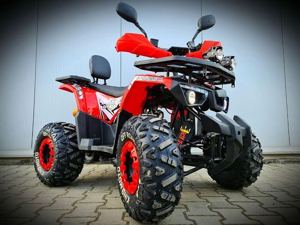 Quad ATV KING Moto PATROL 125 HIT Pług, Odśnieżarka, Promocja