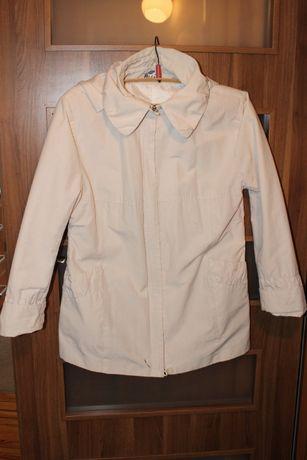 Rozmiar XL jak nowa kurtka damska przejściowa/ wiosenna z kapturem