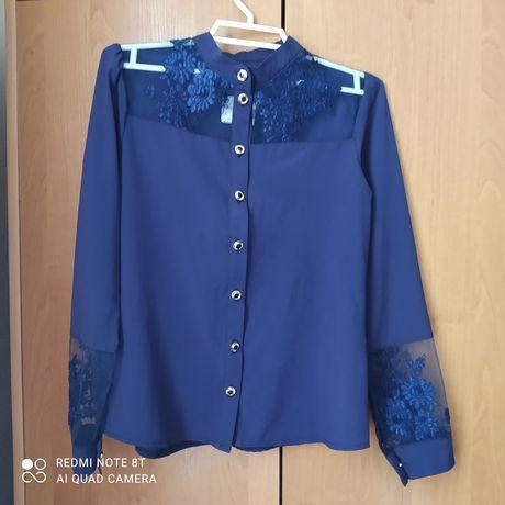 Красивая блузка 146 рост