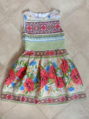 Платье в украинском стиле 122-128р