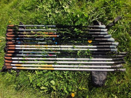 Немецкие палки для скандинавской ходьбы Adventuridge Карбоновые