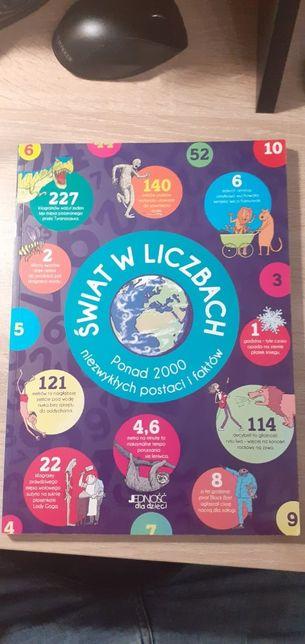 """""""Świat w liczbach. Ponad 2000 niezwykłych postaci i faktów"""" stan: nowy"""