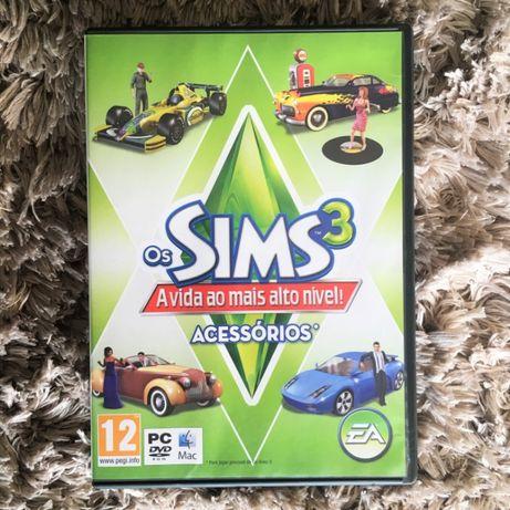 Jogo PC/Mac - Os Sims 3 A Vida Ao Mais Alto Nível!, Pack De Acessórios