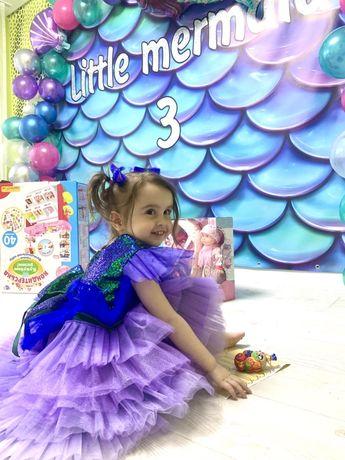 Платье нарядное 2-4 годика )