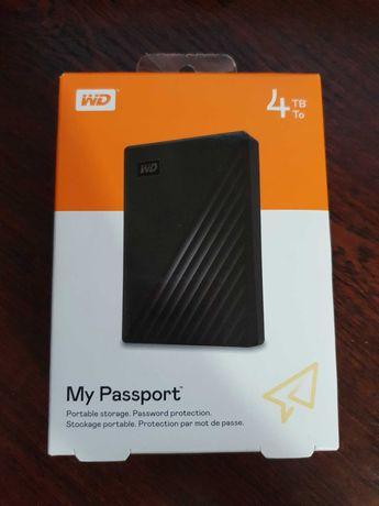 Зовнішній жорсткий диск WD 4TB My Passport USB 3.2 for PCMAC Black