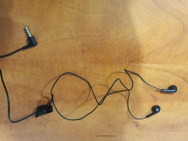 NOKIA - słuchawki douszne - HS-125/WH-102 CZARNE 3.5 MM - kabel 1,5m