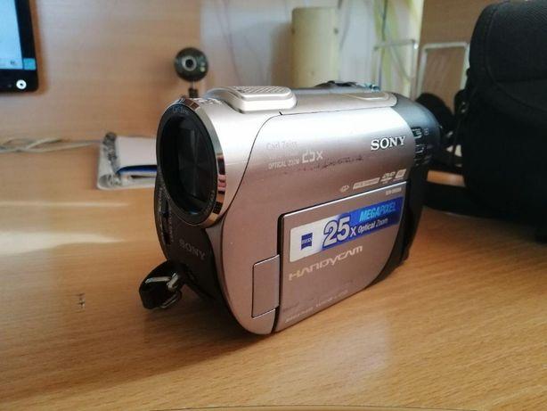 Видеокамера sony handycam DCR-DVD308 + сумка, зарядное, пульт