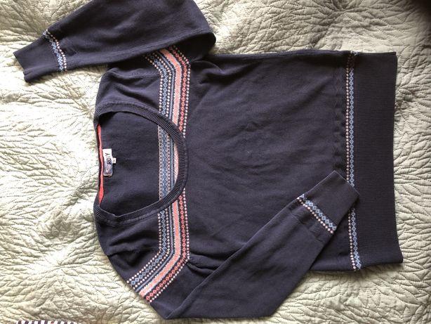 Granatowy sweterek Roxy S