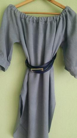 Sukienka, tunika, włoska, letnia, elegancka bluzka przewiewna sportowa