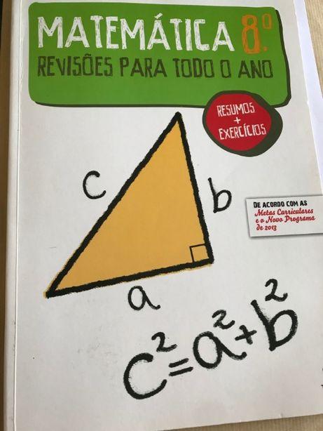 Caderno de Revisões de Matemática 8º ano
