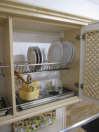 Двухуровневые Сушки для посуды из нержавейки