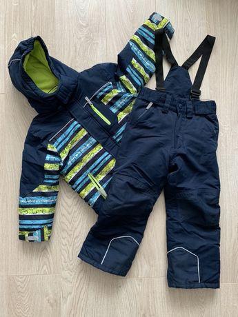 Комплект зима зимний Тополино Topolino куртка комбинезон
