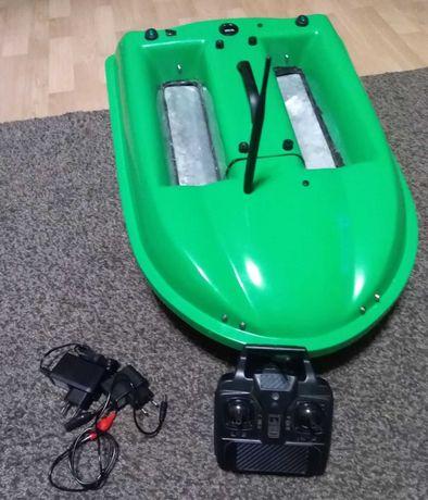 Łódka zanętowa dwukomorowa