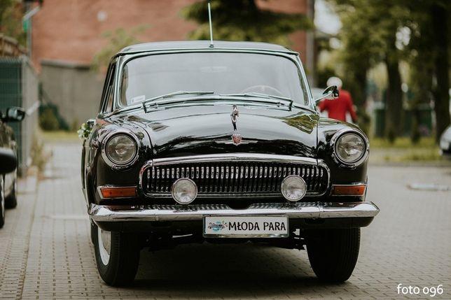 Zabytkowy samochód auto Wołga na ślub, wesele...