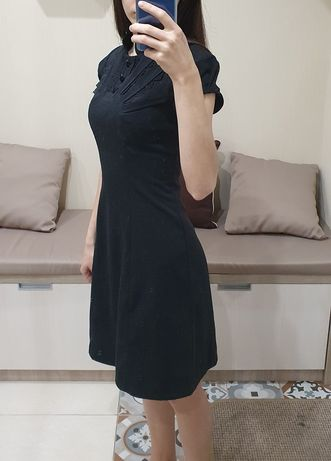Школьное приталенное платье