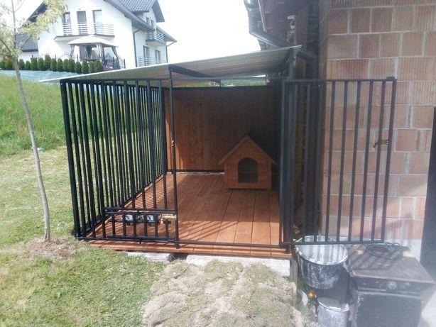 schronienie kojec dla psa, buda, altana, drewutnia i inne