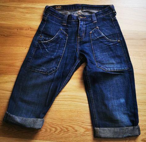 spodnie damskie 3/4 LEE r. 36/38