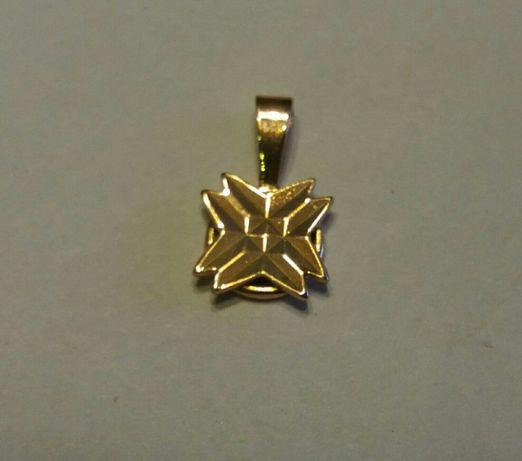 Zawieszka krzyż maltański 585