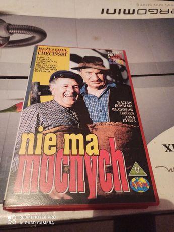 Kaseta VHS Nie ma mocnych