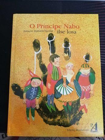 """Livro """"O Principe Nabo"""""""
