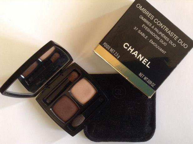 Двойные тени Chanel ombres contraste duo 37 sable emouvant. Оригинал