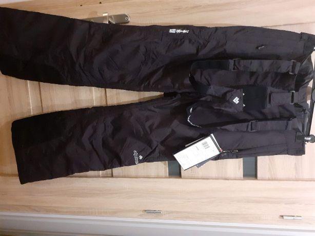 spodnie damskie narciarskie xl 42 nowe Alpinus czarne zimowe