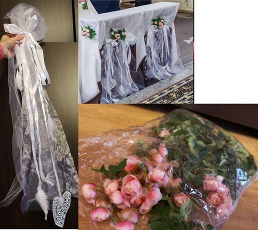Sprzedam - Kompletna dekoracja ślubna! Do kościoła oraz inne