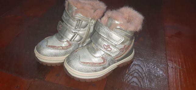 Ботинки сапожки сапоги зимові