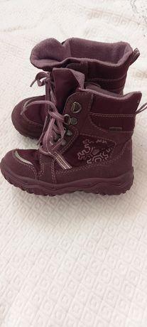 Осінньо-зимові чобітки для дівчинки 25 розбіру