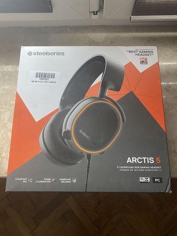 NOWE Słuchawki Steelseries Arctis 5 w pudełku